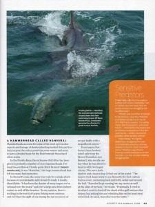 Sport Fishing-June 2012-Sharked
