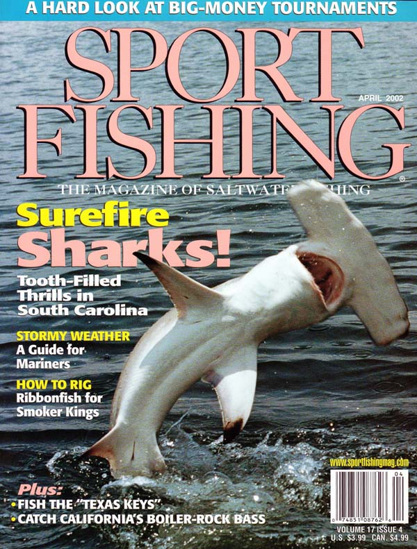 Fishing magazine articles for Florida sport fishing magazine